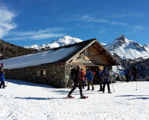 Neve a Malga Conseria