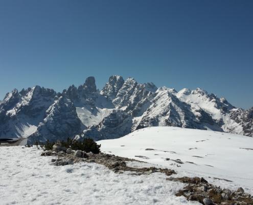 Scialpinismo canaloni Dolomiti