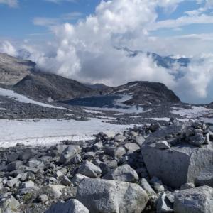 Lago ghiacciato da Cima Pozzoni